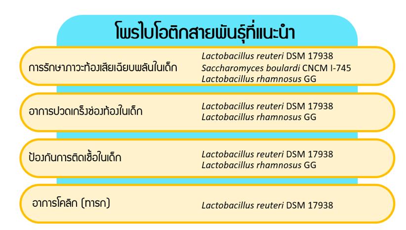โพรไบโอติก สายพันธุ์ Lactobacillus reuteri DSM17938